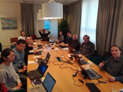 Scientists from INRA, AUTH, SLU, INRA, CAU were hosted by Wageningen University.